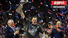 Brady y Patriots completan remontada histórica por el quintoanillo
