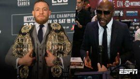 """""""En una pelea he hecho más dinero que McGregor en toda su carrera"""":Mayweather"""